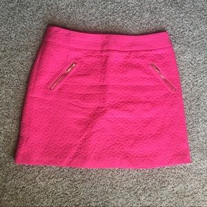 Worthington Hot Pink Skirt